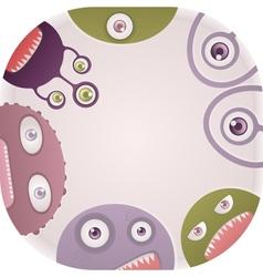 Set monsters vector