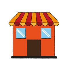 store shop symbol vector image vector image