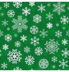 Christmas seamless pattern vector image vector image