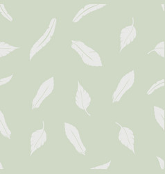 pattern of feathers vector image