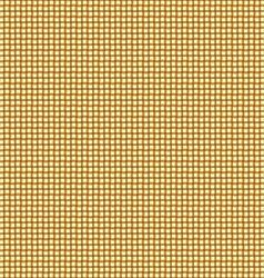 Seamless gold interweaving background vector image