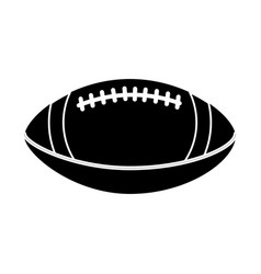 american football ball sport pictogram vector image