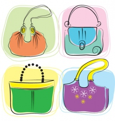 bag drawing vector image