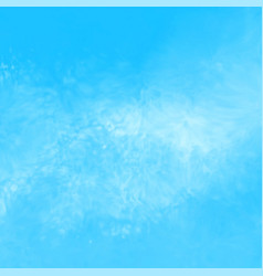 blue watercolor ink texture background vector image