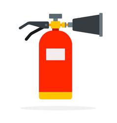 carbon dioxide fire extinguisher vector image