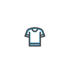 cloth icon line design e commerce icon vector image