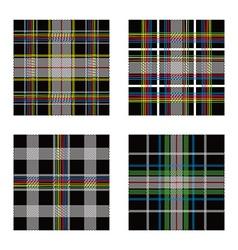 garment pattern vector image