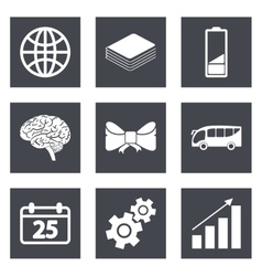 Icons for Web Design and Mobile Applications set 5 vector