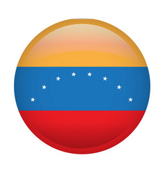 isolated venezuelan flag vector image