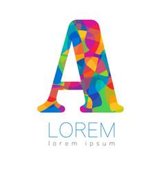 Modern logo creative style logotype in vector