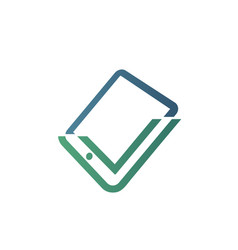 tech store vector image