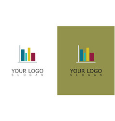 trade business logo vector image