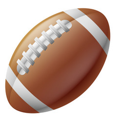 american football ball vector image vector image