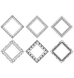 brush tribal set vector image