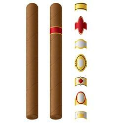 cigar 02 vector image