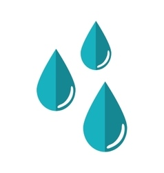 blue design isolated weather icon graphic vector image