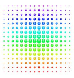 Dual head interface shape halftone spectral grid vector
