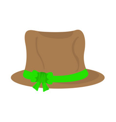 isolated oktoberfest traditional hat vector image