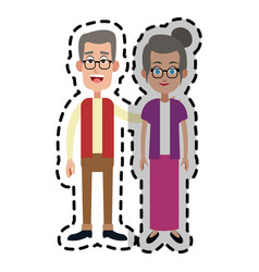 Man woman couple icon image vector