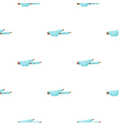 snow pattern flat vector image