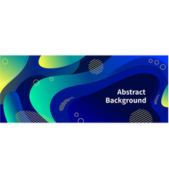wavy abstract background pattern in blue vector image