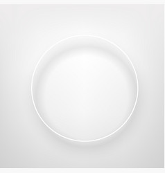 white square frame on a bright wall banner design vector image