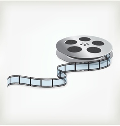 Film coil vector image
