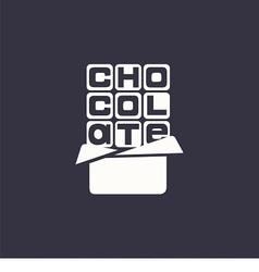 logo chocolate vector image vector image