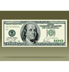 Dollar bank note vector