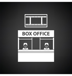 Box office icon vector image