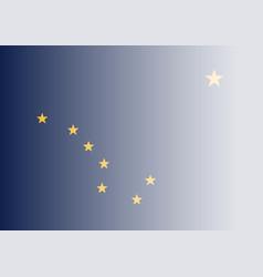 Alaska state flag fade background vector