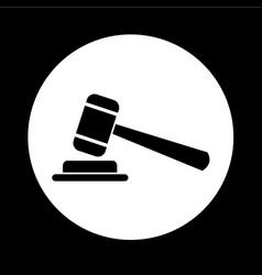 Gavel icon design vector