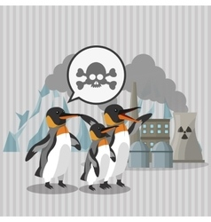 Global warming design Environment iconecology vector