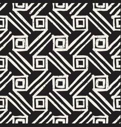 hand drawn style ethnic seamless pattern abstract vector image