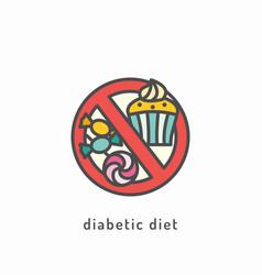 healthy diet icon vector image