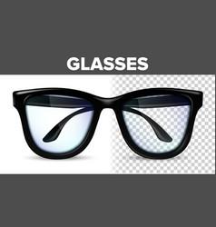 Man male glasses black classic eyewear vector