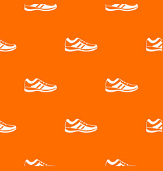 men sneakers pattern seamless vector image