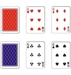 Playing card set 07 vector