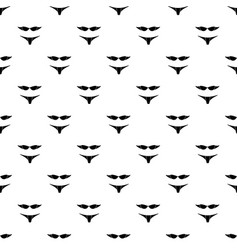 retro bikini pattern seamless vector image