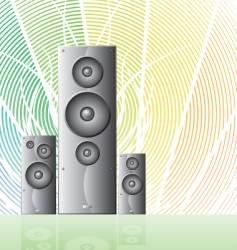 Speaker 2 design vector