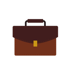 suitcase luggage object vector image