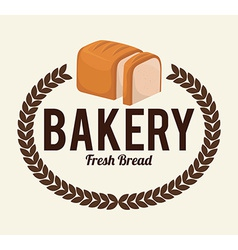 Bakery design over white background vector