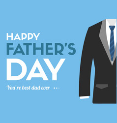 Father day design greeting card vector