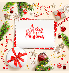 festive design elements vector image