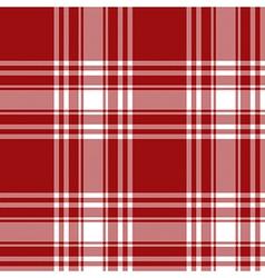 Menzies tartan red kilt skirt fabric texture vector image