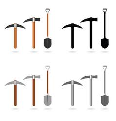 Mining tool set vector