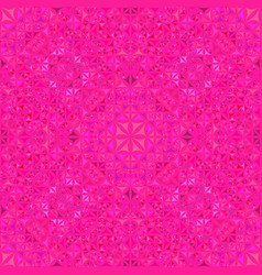 Pink repeating kaleidoscope pattern background vector