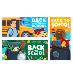 school and college education vector image
