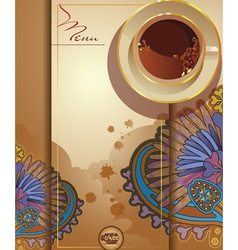 coffee11 vector image