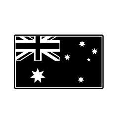 Australian flag design vector